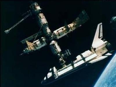 Imagem do dia: estação espacial mir